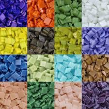 mini mosaic tiles 3 8 inch kaleidoscope brand