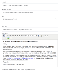 How To Postpone And Reschedule An Event Eventbrite Help Centre