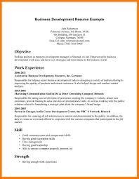 Resume Objective For Business Analyst Sample Development Internship