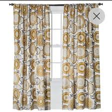 threshold farrah medallion curtains from target