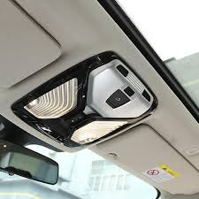 Car Decoration Accessories India Stunning Chrome Abs Car Roof Reading Light Frame Decoration Cover Trim For