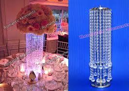 wedding chandelier centerpieces acrylic crystal wedding centerpiece table centerpiece wedding pillar tall wedding decor in vases