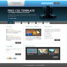 professional webtemplate free template 156 professional