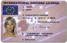 - Licence Driver Movie-ec Novelty Templates
