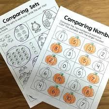 Comparing Sets Kindergarten And Kindergarten Math Writing Numbers ...