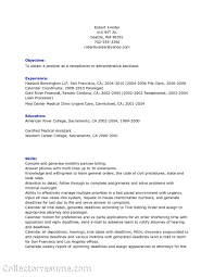 resume objective for part time receptionist equations solver healthcare medical resume receptionist