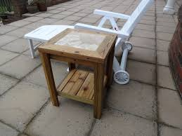 DIY Project - Outside Drinks Table Using Reclaimed Wood