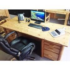 rustic office desks. Rustic Log Executive Desk Office Desks E
