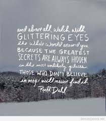 Roald Dahl Quotes Awesome Roald Dahl Image Quote