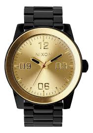corporal ss men s watches nixon watches and premium accessories corporal ss black gold