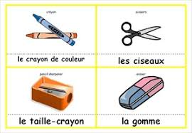 Flashcards Template Word French Flash Cards