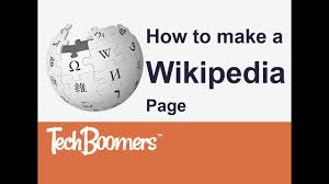 How to Make a Wikipedia Page - YouTube