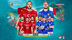 ถ่ายทอดสด ฟุตบอลยูโร 2020 ตุรกี vs อิตาลี Full HD พากย์ไทย