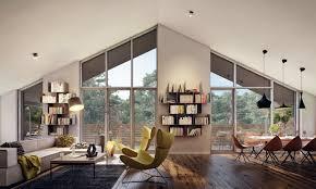 Slanted Roof Bedroom Owlatroncom A Right Modern Living Room Ideas