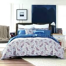 bed set denim duvet cover king mission paisley home design tommy hilfiger queen comforter sheets 5