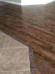 Wood Metal Transition Strips For Laminate Flooring To Tile From Hardwood Contemporary Bathroom By The Collaborative Time How Connect And F