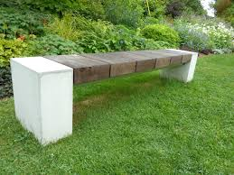 image of garden bench plans