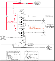 1992 jeep cherokee radio wiring diagram fitfathers me jeep yj headlight dimmer switch at Jeep Yj Headlight Switch Wiring Diagram