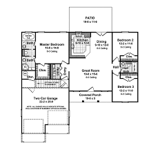 traditional house plan first floor 077d 0019 house planore