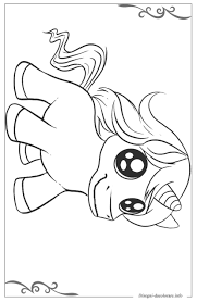 Unicorno Pagine Da Colorare Per Bambini Stampabili Gratuitamente