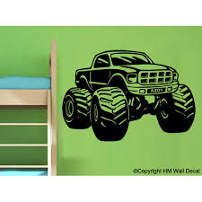 hm wall decal personalised monster