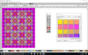 Test Drive: Quilt-Pro V6 Quilt Design Software Â« Generation Q Magazine & In these last three shots, I changed the look of the quilt by changing the  quilt layout from 1 block without sashing, then adding sashing, then, ... Adamdwight.com