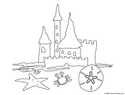 Free Castle Coloring Pages And Sand Page - glum.me