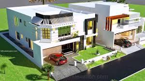 1 Kanal House Design With Basement Youtube
