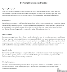 Personal Qualifications Statement How To Write A Personal Statement Format And Examples For 2019