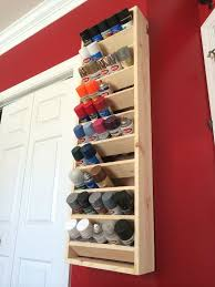 spray paint storage featuring instructables