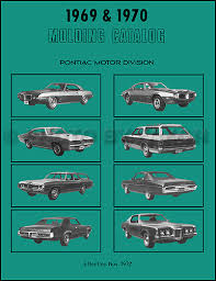 1970 pontiac gto lemans tempest wiring diagram manual reprint related items