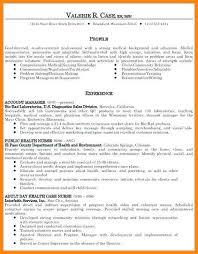 Example Of Profile On Resume Interesting 4848 Example Of Resume Profile Summary Malleckdesignco