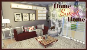 Sims 4 - Home Sweet Home (House + Mods for download) - Dinha