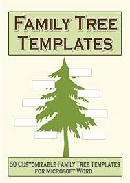 Family Tree Templates Microsoft Amazon Com Family Tree Templates