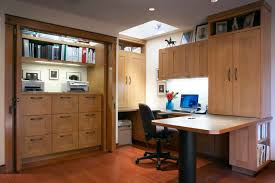 home office in basement. contemporary home office by harrell remodeling inc in basement l