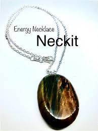 blue tiger s eye stone pendant necklace