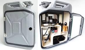 stylish bathroom furniture.  Bathroom Danish Fuel Remodeled Old Jerry Cans Into Stylish Bathroom Cabinets For Stylish Bathroom Furniture A