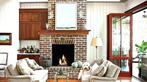 decorating ideas for brick fireplace wall brick fireplace designs brick fireplace decorating ideas dogtrot hallway fireplace