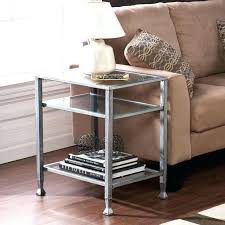 glass coffee table and end tables home silver metal ping all bring out the s e es amaz