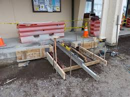 making impossible ada slopes possible predictable concrete concrete wheelchair ramp