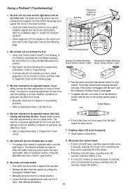 troubleshooting chamberlain 547445 manuel d utilisation page 35 88