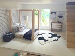 Miniature Dollhouse Bedroom Furniture Modern Miniatures Miniature Bed Follow Me On Instagram