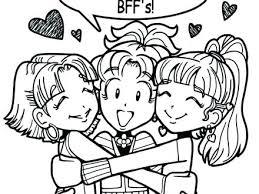 Bff Coloring Pages Coloring Pages Coloring Pages Best Friend