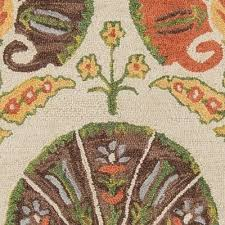 momeni tangier ivory hand tufted wool rug 2 x 3