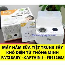 Máy tiệt trùng sấy khô thông minh tích hợp hâm sữa điện tử Fatz Fatzbaby -  CAPTAIN 1 - FB4320SJ