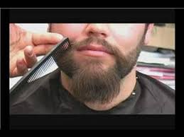 how to trim a mustache t a