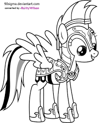 my little pony drawing