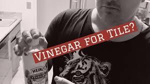 Clean Tile Floor Vinegar Cleaning Tile Floor With Vinegar Stay Informed Youtube