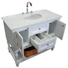 single white bathroom vanities. Bathroom 42 Inch Vanity Combo On With Regard To White Single Vanities E