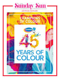 President Paint Color Chart Harris 45 Years Of Colour By Nation Publishing Co Limited